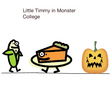 Little timmy in monster school