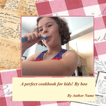 A perfect cookbook for kids