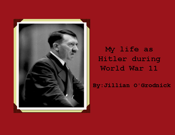 World War II Life Style About Hitler