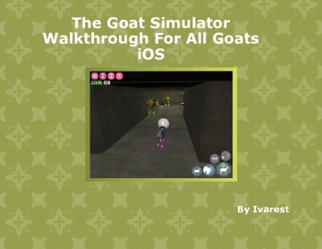 Goat Simulator Guide to all Goats iOS