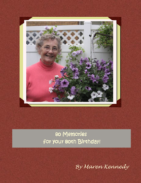 80 memories for your 80th Birthday
