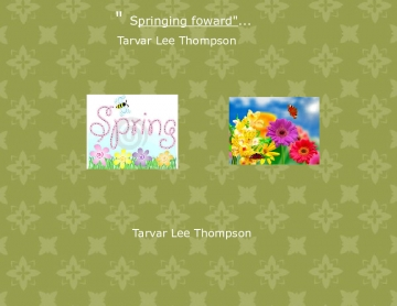 Springing foward