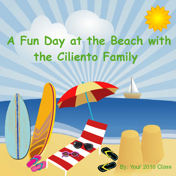 A Fun Day at the Beach with The Ciliento Family