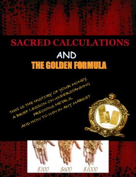 Sacred Calculations & The Golden Formula