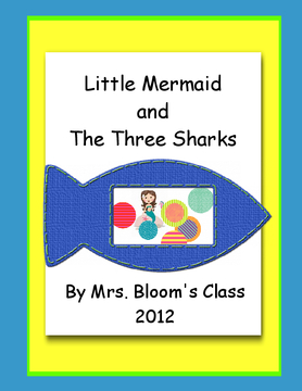 Little Mermaid and the Three Sharks