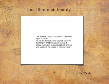 Join Illuminati Family, +27823985329 , alluminati agent in S.Africa , chief Zelda