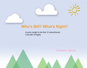 Who's Bill? What's Right?