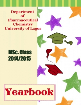 Pharmaceutical Chemistry, Class 2014/2015 Yearbook