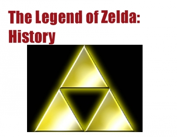 The Legend of Zelda: History
