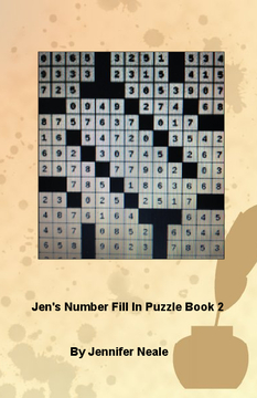 Jen's Number Fill In Puzzle Book 2