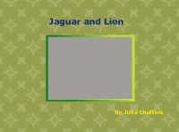 Jaguar and Lion