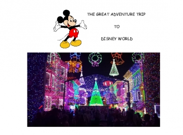 THE GREAT ADVENTURE TRIP TO DISNEY WORLD