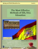 The Most Effective Ways of ELL/ ESL Education