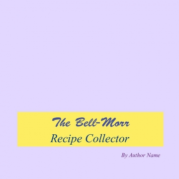 The Bell-Morr Recipe Collector