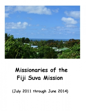Missionaries of the Fiji Suva Mission