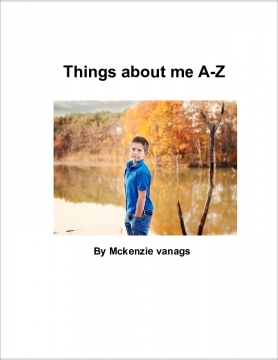 Things About Me A-Z