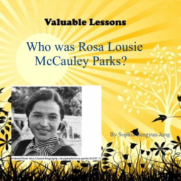 Who was Rosa Lousie McCauley Parks?