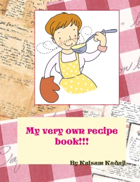 My very own recipe book