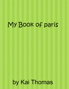 My Book of paris