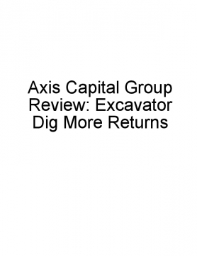 Axis Capital Group Singapore