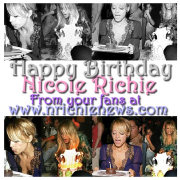 Happy Birthday Nicole Richie