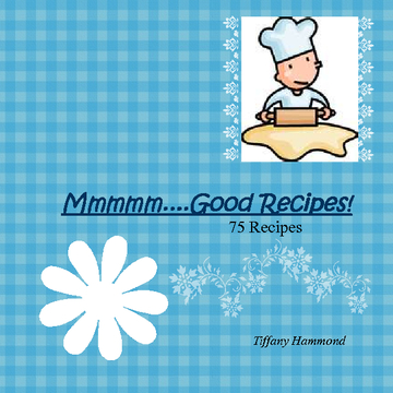 My Book of Recipes