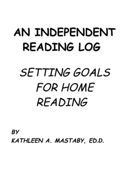 AN INDEPENDENT READING LOG
