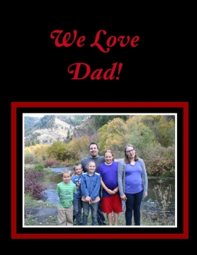 We Love Dad!