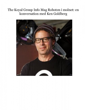The Koyal Group Info Mag Roboten i molnet: en konversation med Ken Goldberg