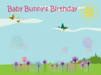 Baby Bunny's Birthday