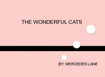 THE WONDERFUL CATS