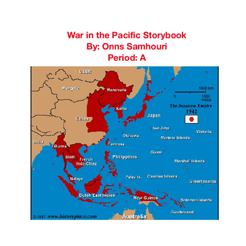 War in the Pacific storybook