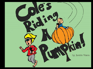 Cole's Riding a Pumpkin