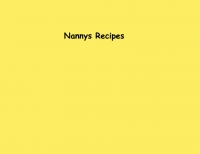 Nannys Recipes