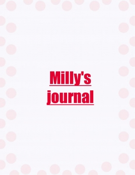 Milly's journal
