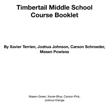 Middle Schools Redone: Timbertail Middle School