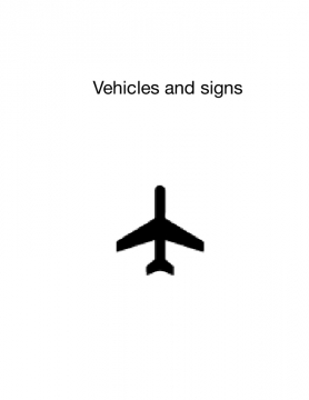 Vehicles and Signs