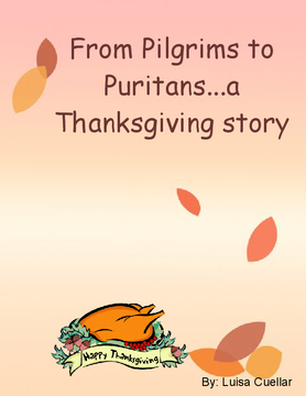 From Pilgrims to Puritans... A thanksgiving story