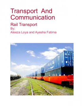 Transport and Communication