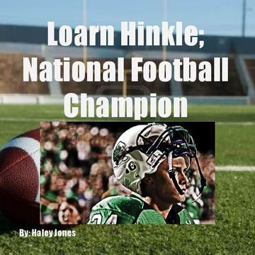 Loarn Hinkle; National Football Champion