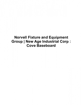 Norvell Fixture and Equipment Group