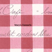 Mary's desserts