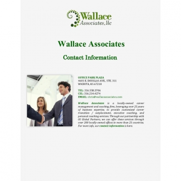 Wallace Associates: Contact Information