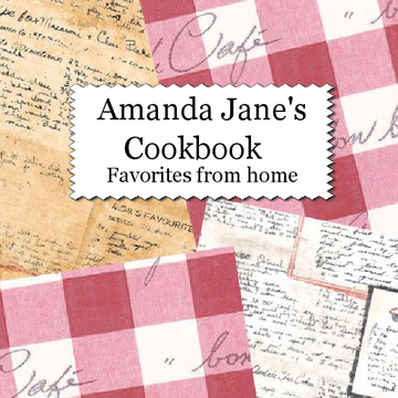 Amanda Jane's Cookbook
