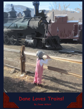 Dane Loves Trains!