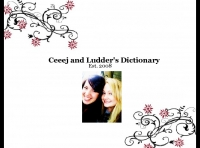 Ceeej and Ludder's Dictionary