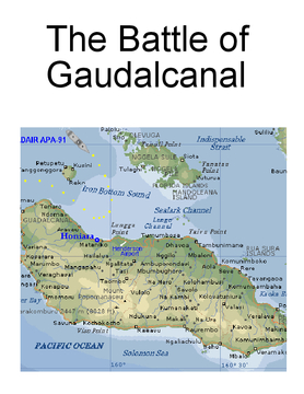 The Battle of Gaudalcanal