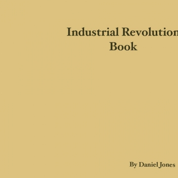 Industrial Revolution Children's Book