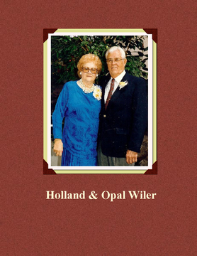 Holland & Opal Wiler