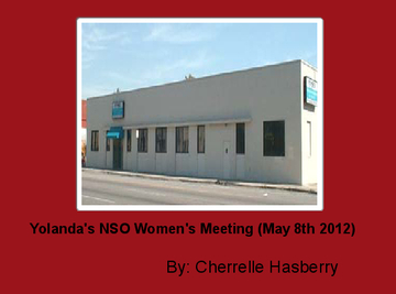 Yolanda's NSO Women's Meeting (May 8th 2012)